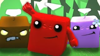 Epic LBP3 Costumes - Episode 11 - Super Meat Boy Edition -  Meat Boy, Bandage Girl and More