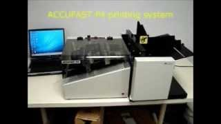 Accufast P4 Inkjet Printer with FX 03 Feeder