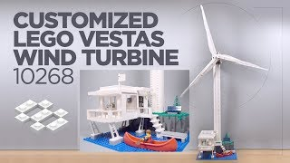 LEGO Wind Turbine MOC [4999 MOD]