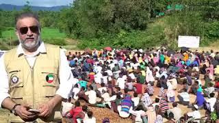 مساعدات الراحمون تصل الى بورما ( ساهم في إغاثتهم )
