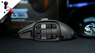 Roccat Nyth Review (Modular MMORPG Mouse)