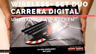 Unboxing Wireless+ Set Duo Carrera Digitale Carrerabahn DE
