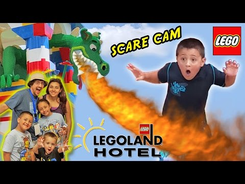LEGOLAND HOTEL Grand Opening in Florida + DRAGON SCARE CAM! (Best Day Ever w/ Amusement Park Fun!)