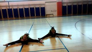 TMK Sveta Nedelja / Svetonedeljske mažoretkinje ♥ - Duet Dance Children ~ Lara & Lena