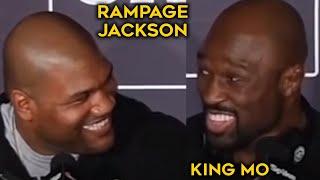 Rampage Jackson vs King Mo -Funny TRASH TALK/BEEF[highlight]