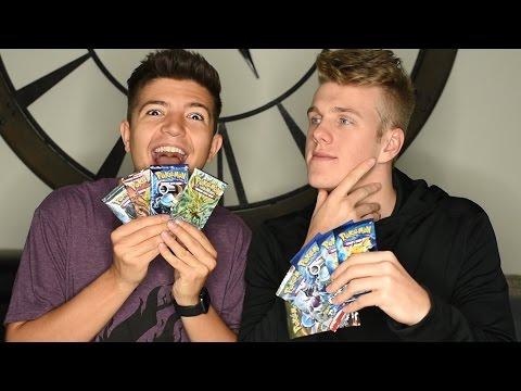 OPENING SUPER RARE POKEMON CARDS w Preston