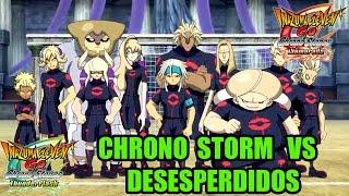 Inazuma Eleven Go Chrono Stones - Chrono Storm vs Desesperdidos (español)