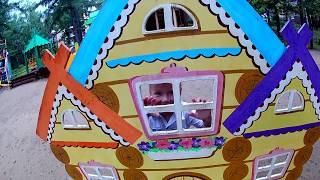 развлечения для детей КАРТИНГ и АКВАПАРК в Абзаково Собаки ХАСКИ