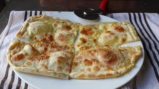 Focaccia di Recco - Rustic Cheese-Filled Italian Flatbread