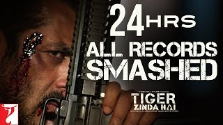 24 Hours: All Records Smashed | Tiger Zinda Hai Trailer | Salman Khan | Katrina Kaif