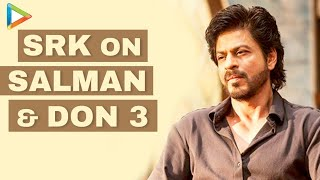 """""""Was Very SWEET Of Salman Khan To Come Shoot With Us"""": SRK 