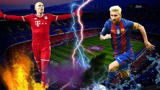 Lionel Messi vs Arjen Robben • Skills & Goals •