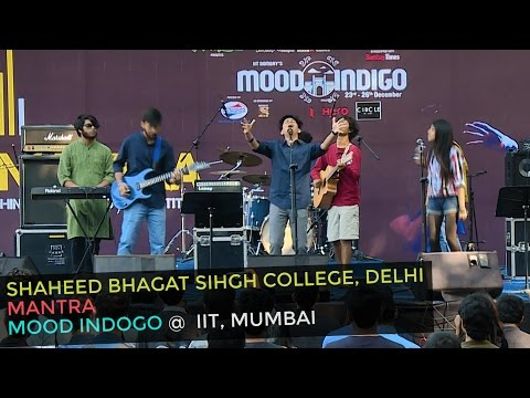 SBS College Students in Their Spectacular Hindi Band Performance at Mood Indigo