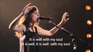 It Is Well - Kristene DiMarco & Bethel Music Live (You Make Me Brave Album) with Lyrics/Subtitles