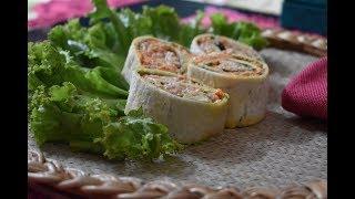রোল সেন্ডুইস / Chicken Roll Sandwich