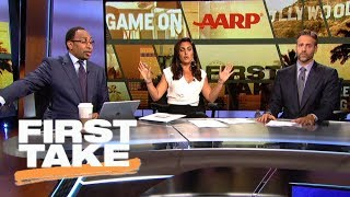Stephen A. and Max get heated over Cowboys | First Take | ESPN