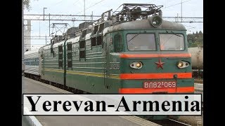 From Yerevan (To Tbilisi by train)  Part 32