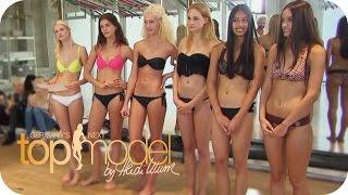 Das Casting: Sexy und Schweißtreibend   Germany's next Topmodel 2015   ProSieben