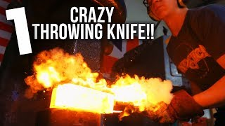 MAKING A HUNGA MUNGA: African Throwing Knife! Part 1