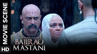 Ranveer Punishes Krishna Bhatt | Bajirao Mastani | Movie Scene