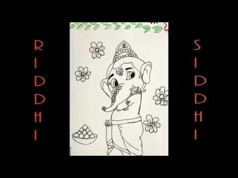 Xxx Mp4 How To Draw Ganpati Ganesha Ganesh Ji How To Make Ganpati Ganesha Ganesh Ji Drawing 3gp Sex