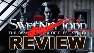 SWEENEY TODD MOVIE REVIEW