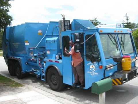 Titusville Solid Waste in action Lodal ASL 8402 7 10 09