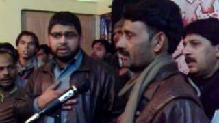 Noke Neza pe Therta nahi Abbas Ka Noha Gulab Bhai From Chholas Sadat