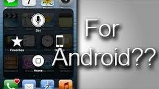 How to get assistive touch android !