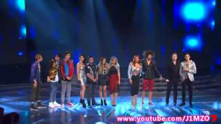 Results: The Top 9 - Week 4 - Live Decider 4 - The X Factor Australia 2013