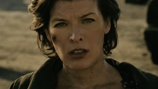 Resident Evil: The Final Chapter - Welcome Home | official FIRST LOOK clip (2017) Milla Jovovich