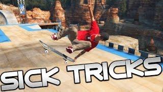 Skate 3 Xbox One: SUPER ULTRA MEGA-PARK SICK TRICKS!
