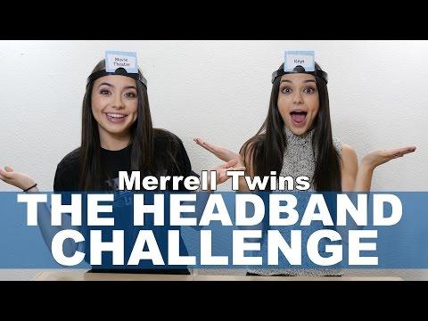 The Headband Challenge Merrell Twins