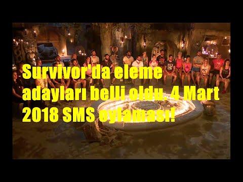 Survivor'da eleme adayları belli oldu. 4 Mart 2018 SMS oylaması!