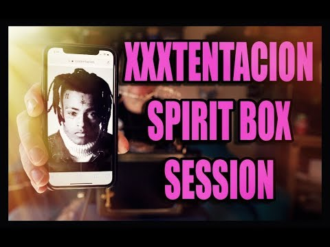 Xxx Mp4 XXXTENTACION Spirit Box Sessions HE SPEAKS Through The SoulSpeaker 3gp Sex