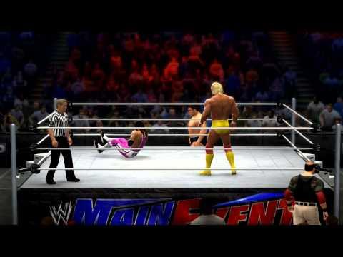 PS Site WWE 2K14 Hulk Hogan vs Bret Hitman Hart