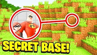 Minecraft: WE FOUND THE INCREDIBLES SECRET BASE! (Ps3/Xbox360/PS4/XboxOne/PE/MCPE)