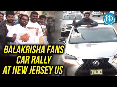 Balakrisha Fans Car Rally At New