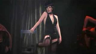 Liza Minnelli Performing Mein Herr with Chair