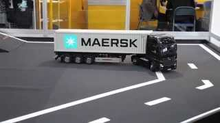 R/C Toy Car Truck Container Trailler Kids Toy Cars