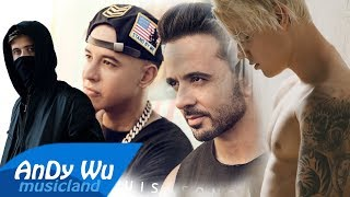 Luis Fonsi, Alan Walker - Despacito / Faded (feat. Justin Bieber, Daddy Yankee)