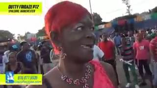 Granny Takes Out False Teeth At Jamaican Party!! DWL