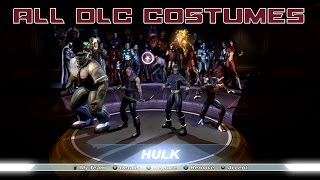 Marvel Ultimate Alliance - All 8 DLC Costumes Unlocked