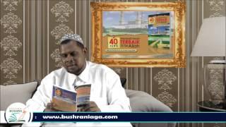 Ustaz Halim Hassan - 40 Tips Menjadi Insan Terbaik Disisi Allah