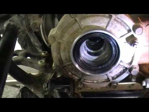 660 GRIZZLY REAR SEAL REPLACEMENT