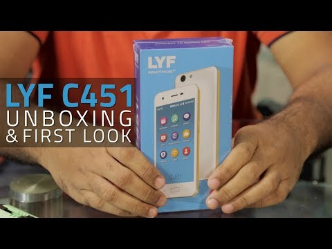 Reliance's Rs. 2,692 4G Smartphone: Unboxing & First Look