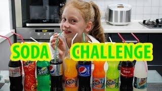 Soda Challenge | Сода Челлендж | Коктейль из разной газировки | Soda Coctail | Угадай газировку