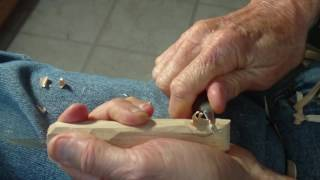 Making A Carving Knife Handle Part 3