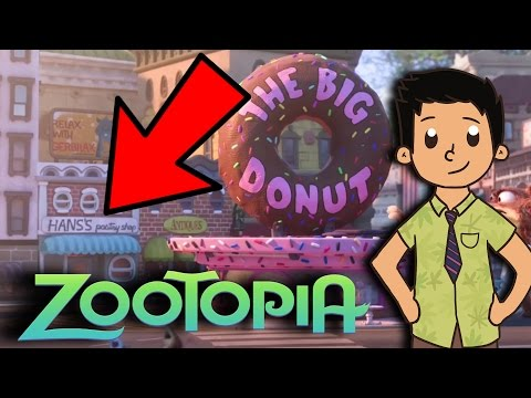 Zootopia Easter Eggs and References