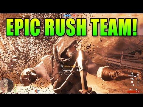 watch Battlefield 1 Epic Rush Team   BF1 Gameplay